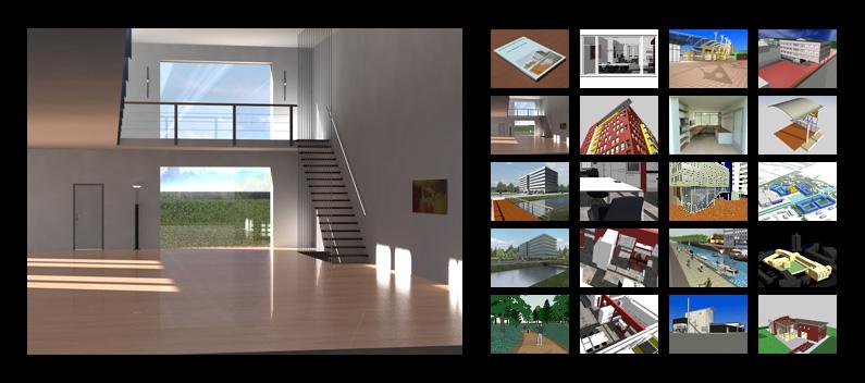 Caddvision projecten 3D visualisatie