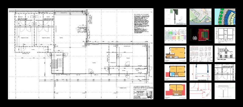 Caddvision projecten CAD tekenwerk