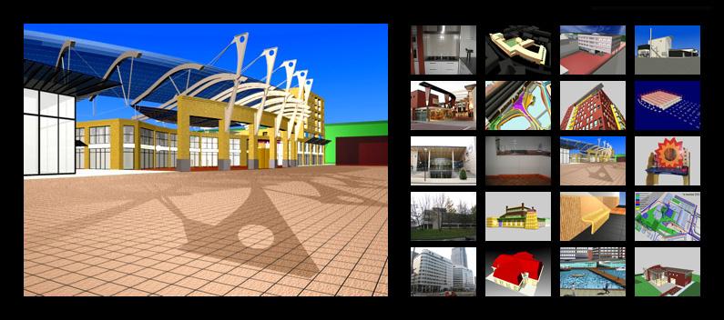 Caddvision diverse projecten