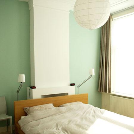 slaapkamer na verbouwing