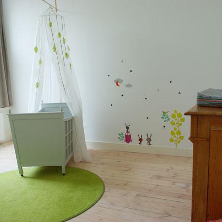 babykamer na de verbouwing