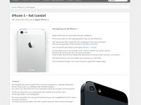 iphone 5 waar vind je die