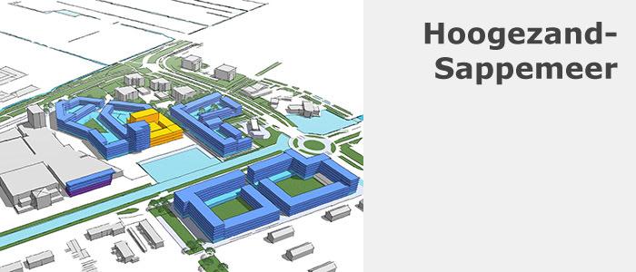 SketchUp model Hoogezand/Sappemeer