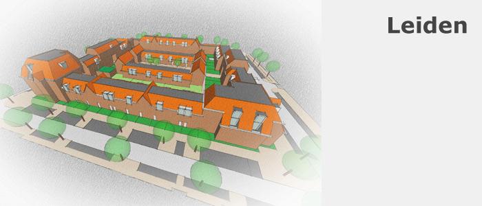 SketchUp model Leiden