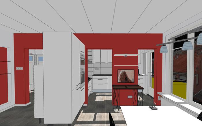Ontwerp keuken Voorburg