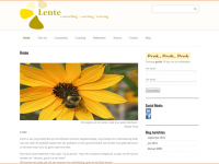 WordPress website praktijk lente