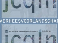 Website Landschapsarchitect Verhees voor Landschap