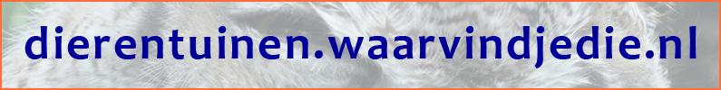 Website Dierentuinen.waarvindjedie.nl