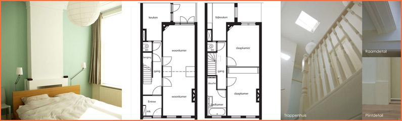Verbouwing door samenvoeging van twee woningen tot een woonhuis