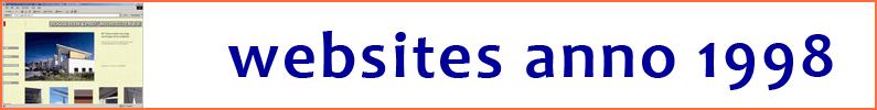 de eerste websites